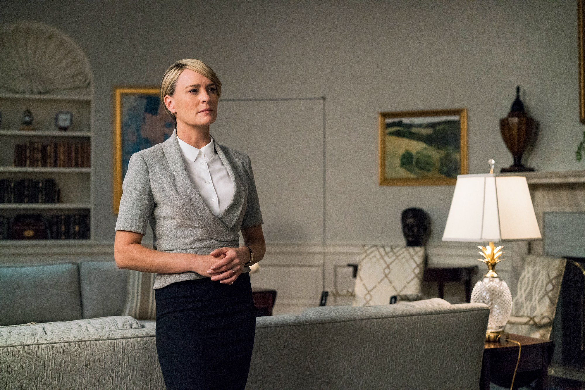 An image of Claire Underwood from House of Cards