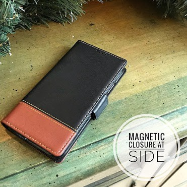 iPulse Handmade Italian Leather Flip Case