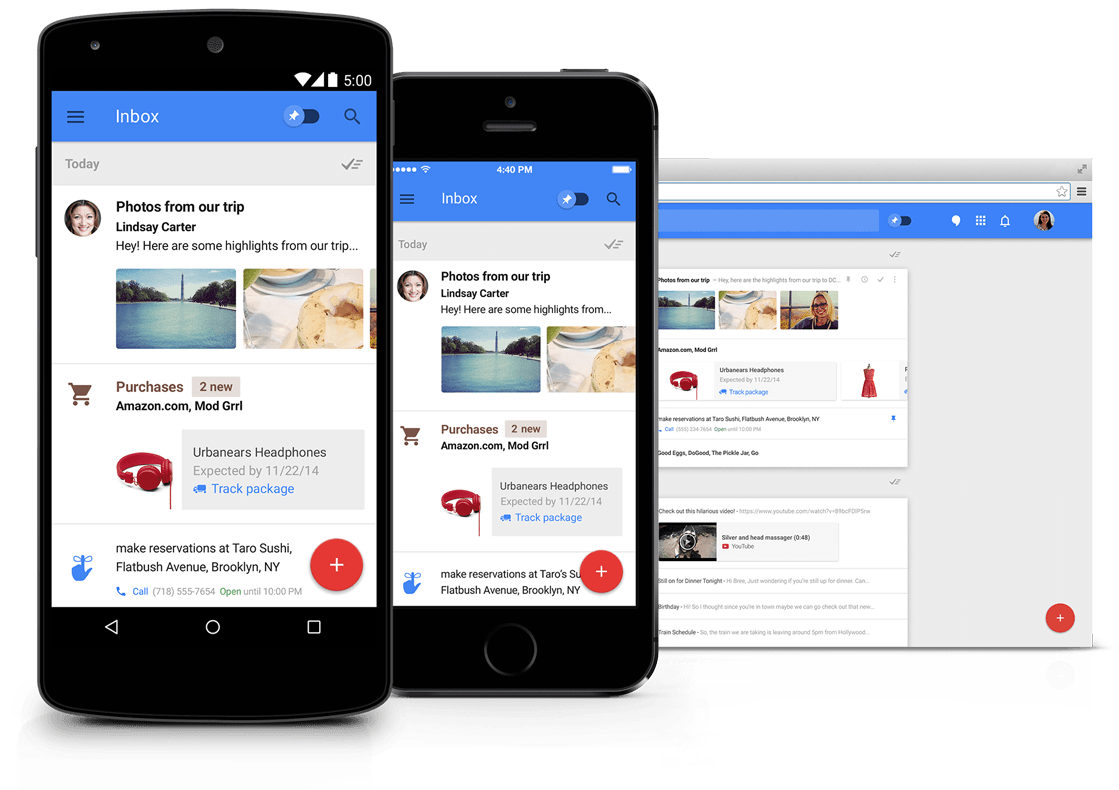 Inbox by Gmail is probably going to die out along with all of Google's other redundant products
