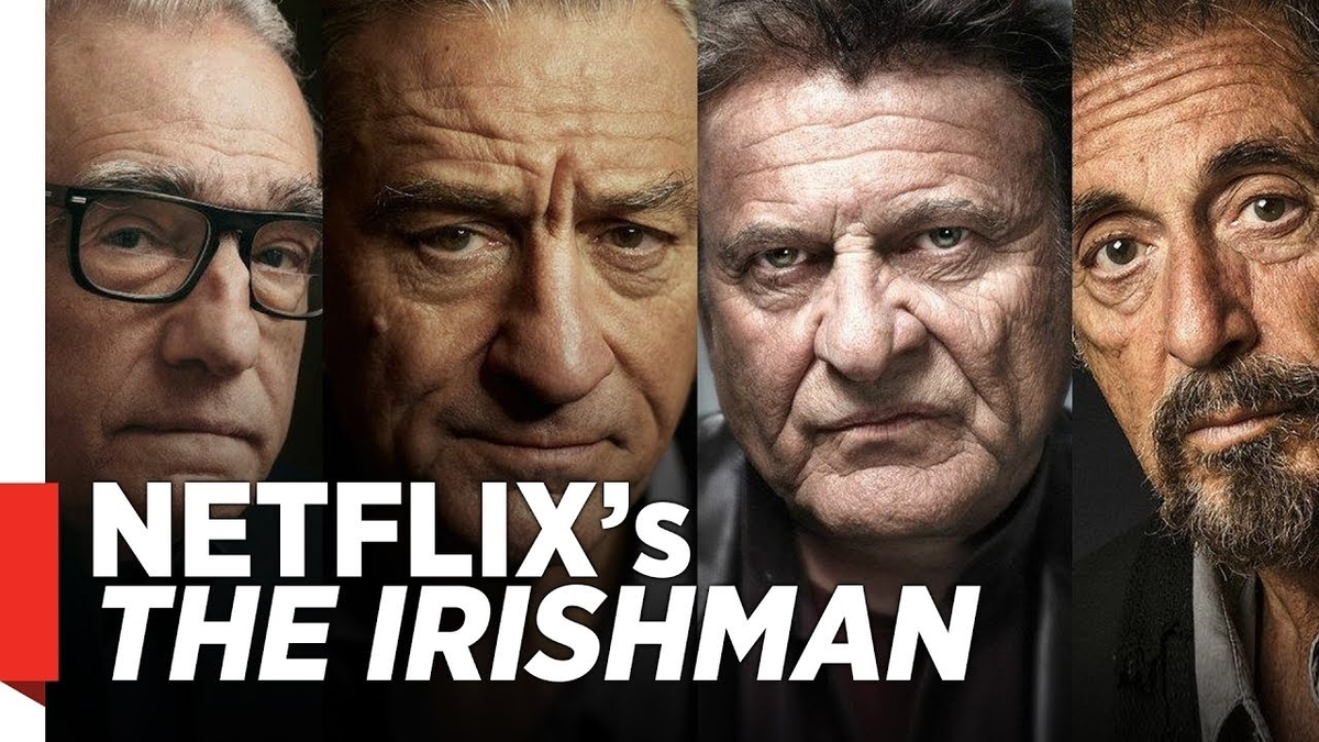 The Irishman by Martin Scorsese