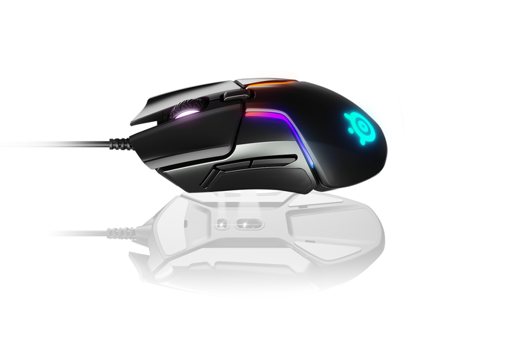 This is a gaming mouse by SteelSeries Rival 600