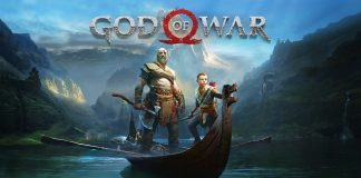 GOD OF WAR 4 on PS4