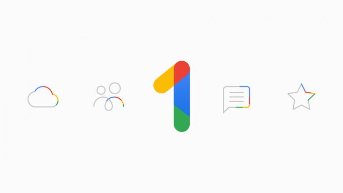 Googl one new storage plans