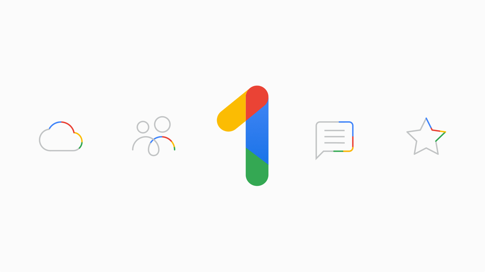 Googl one new storage plans
