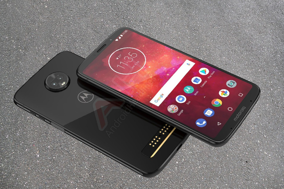 This is the Moto Z3 smartphone by Motorola