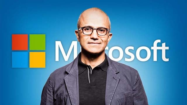 Microsoft's now CEO turned the company away from product to services. A good move.