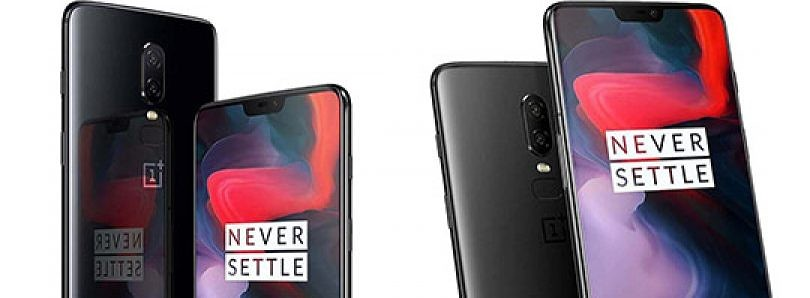 Oneplus 6 covered with gorilla glass