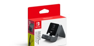 Nintendo's new charging stand for Switch