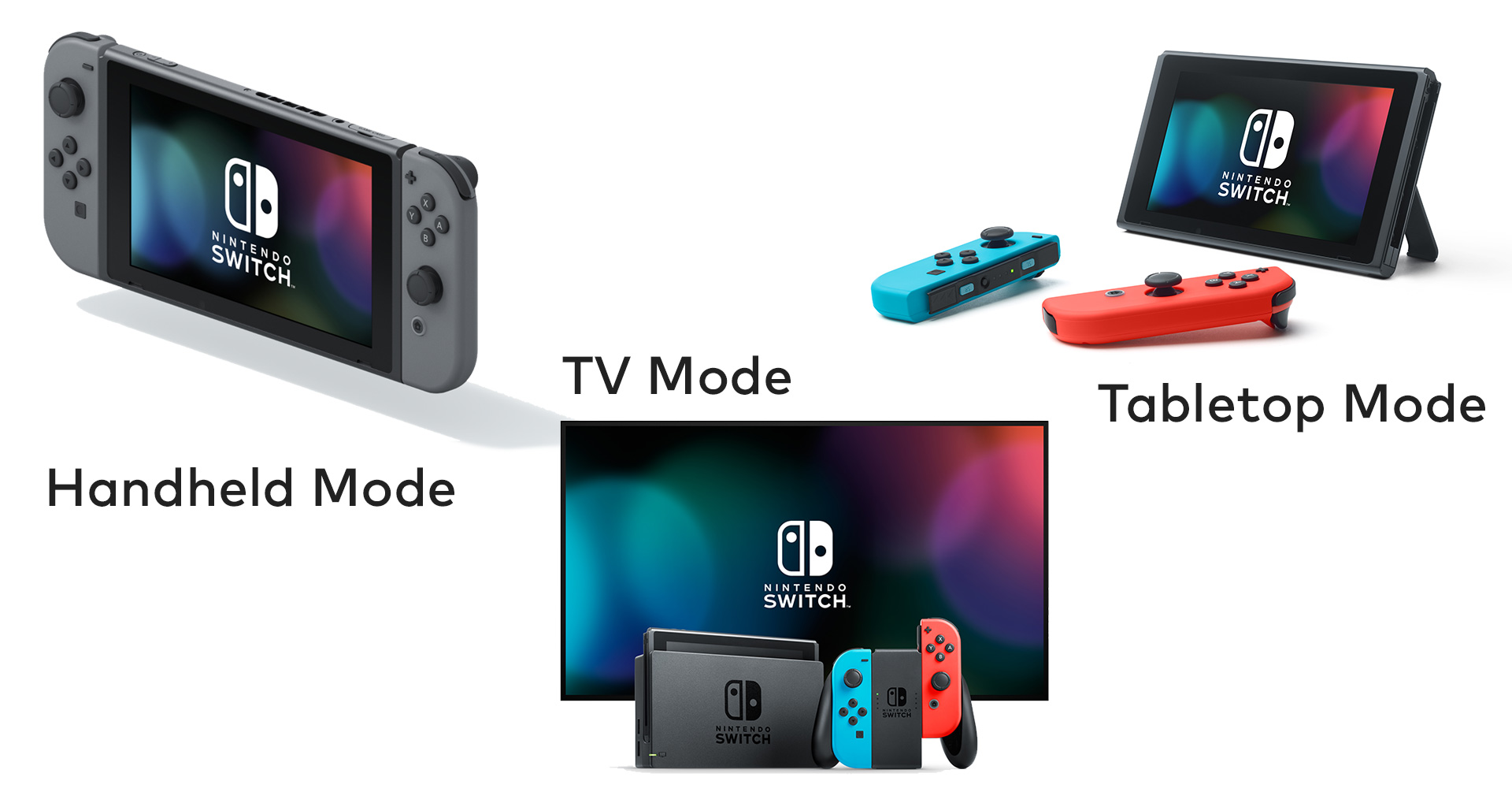 Nintendo Switch Modes