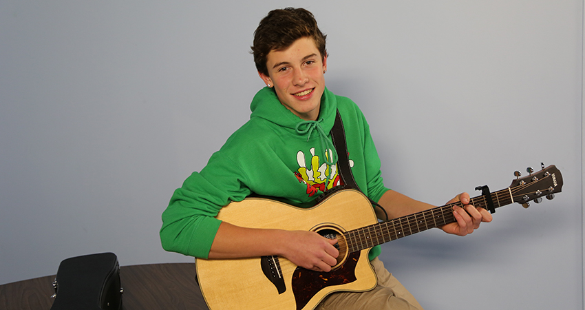 Shawn Mendes began his musical journey with Vine