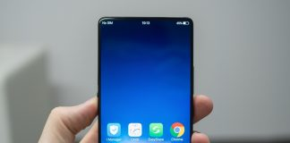 This is the Vivo Apex mobile phone concept.