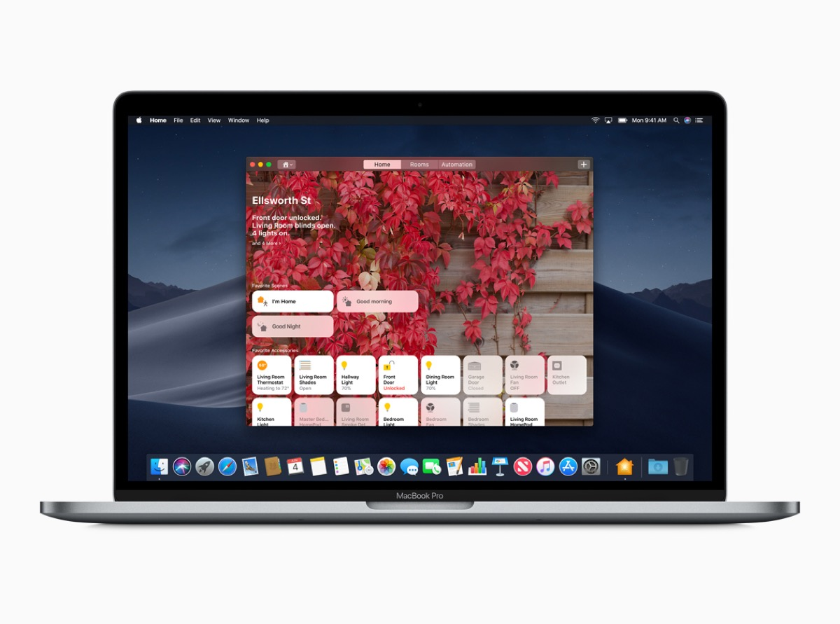 Home app on macOS