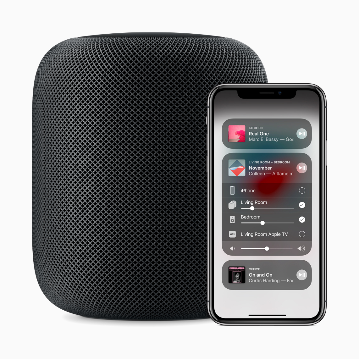 HomePod also helps Apple push its music streaming service