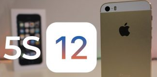iOS 12 runs faster on the iPhone 5S