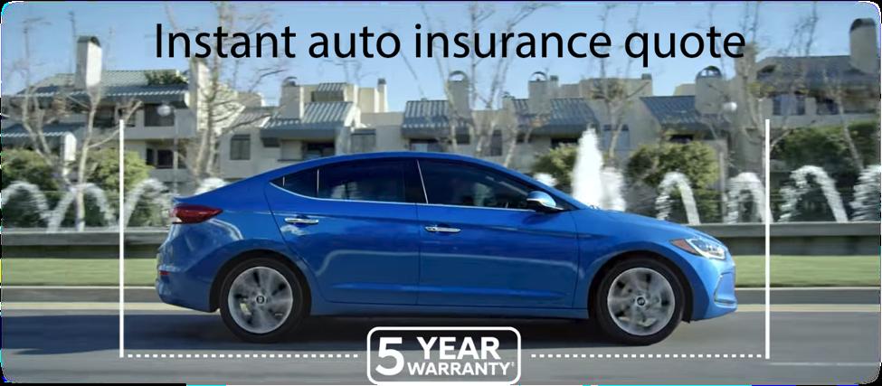 instant auto insurance