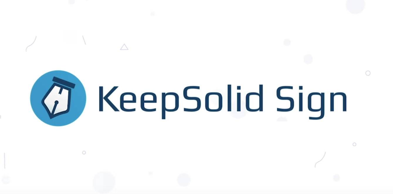 KeepSolid Sign App