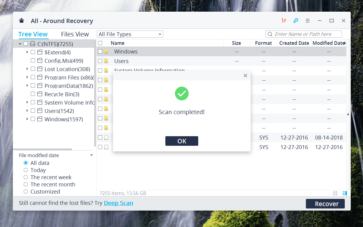 Recover Your Photos with Recoverit