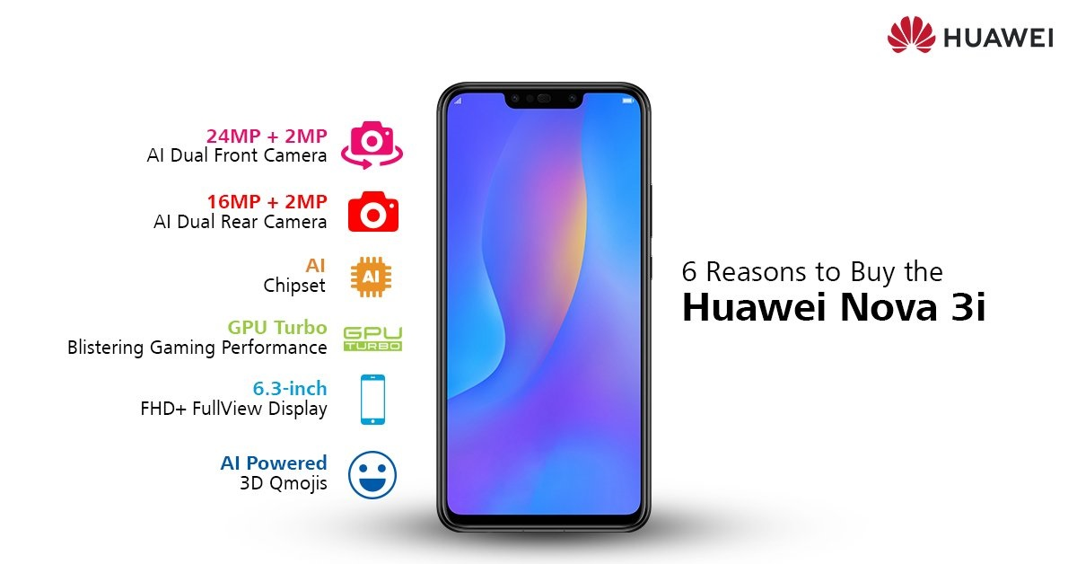 Huawei Nova 3i out of stock in Egypt