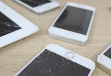 iPhone, ipad screen Broken