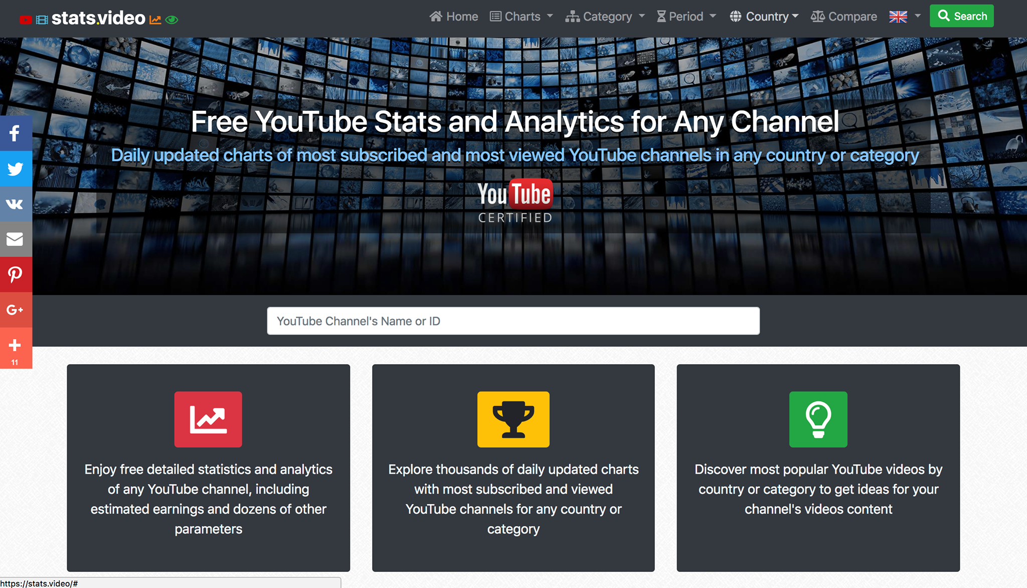 How To Easily View And Analayze YouTube Stats For Any Channel- For Free!