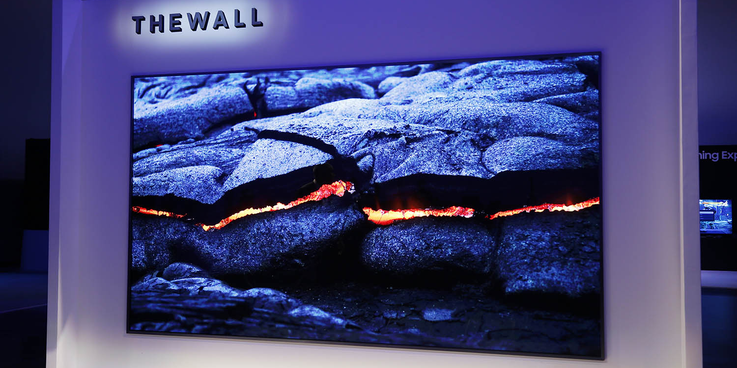 Samsung QLED TV can integrate into any wall