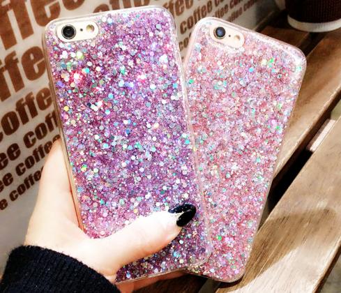Bling Glitter Case in Pink