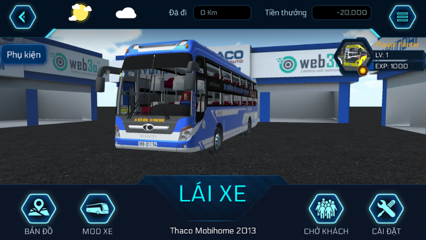 Bus Simulator Vietnam Game