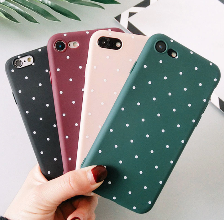Dot Silicone Case