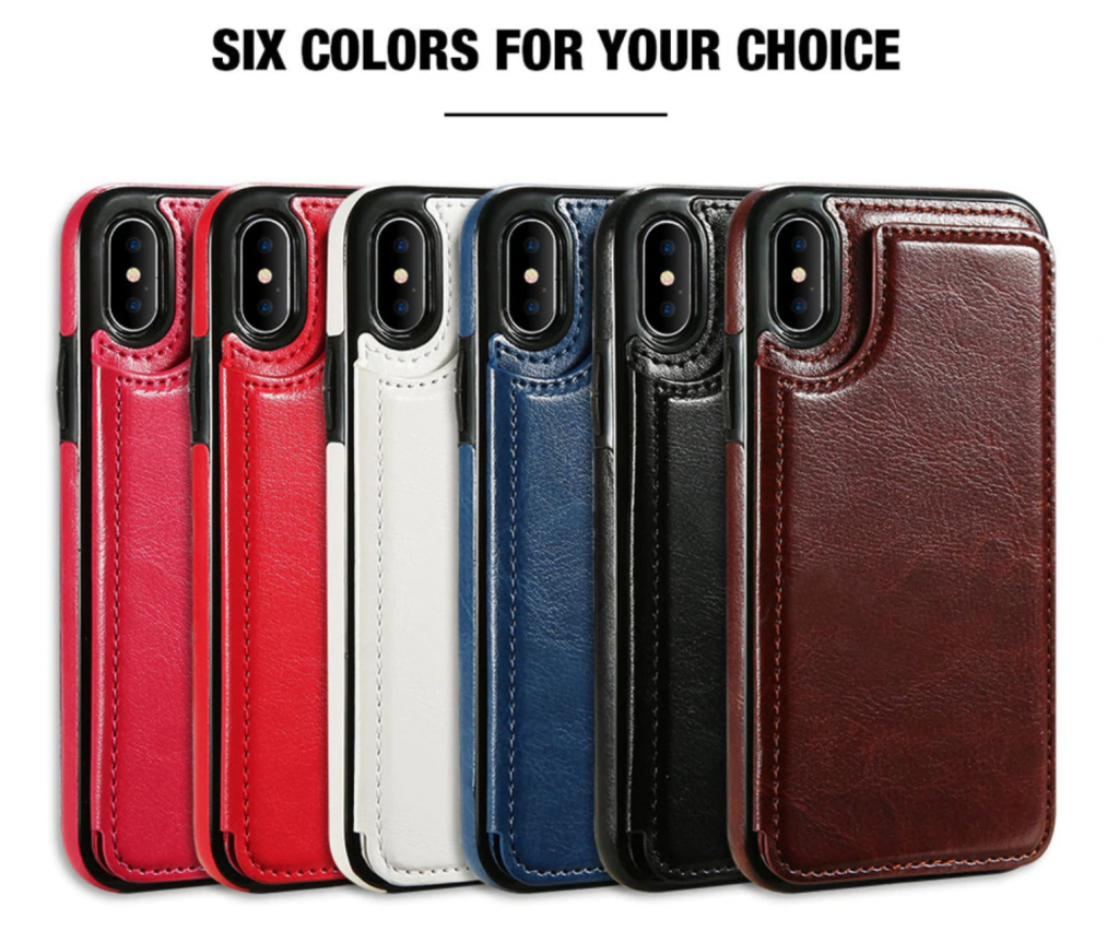 All Colors Flip Leather Wallet Case