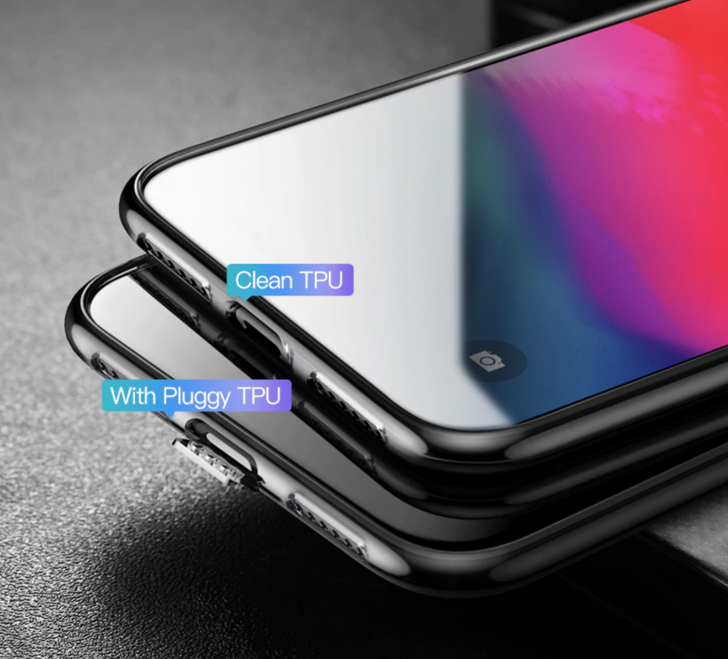 Charging Soft Silicone Ultra Thin Transparent Case