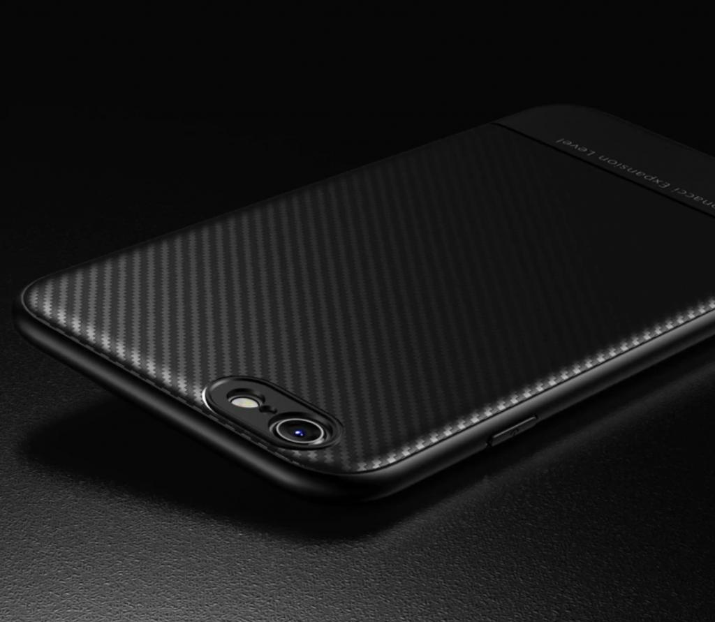 Thin Carbon Fiber Case Black