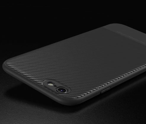 Thin Carbon Fiber Case Grey
