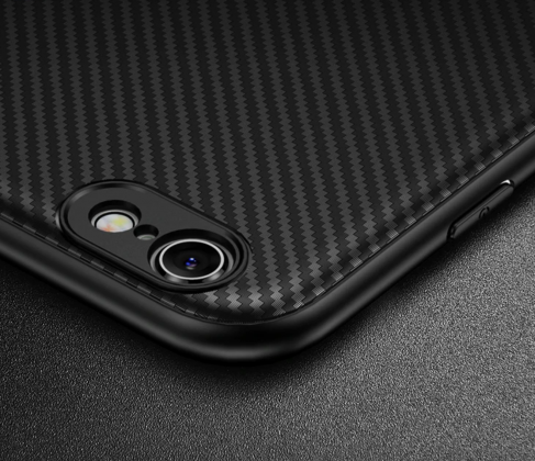 Thin Carbon Fiber Case Camera Protection
