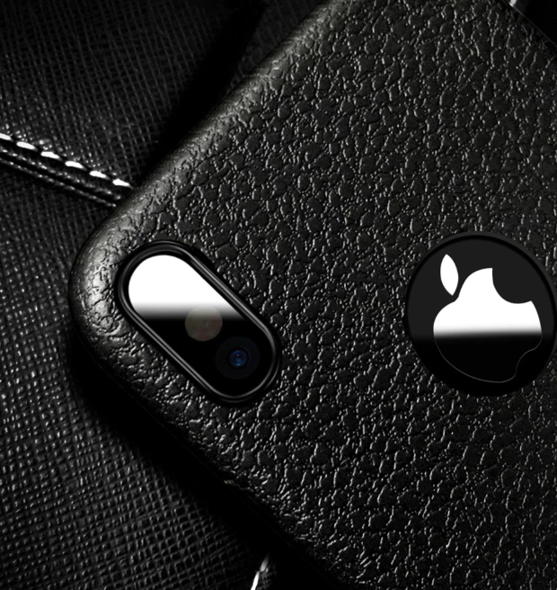Ultra Thin Soft Leather Case Black Camera