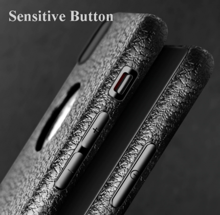 Ultra Thin Soft Leather Case Buttons