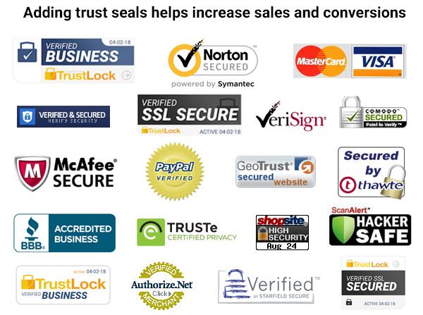 best trust seals for your website