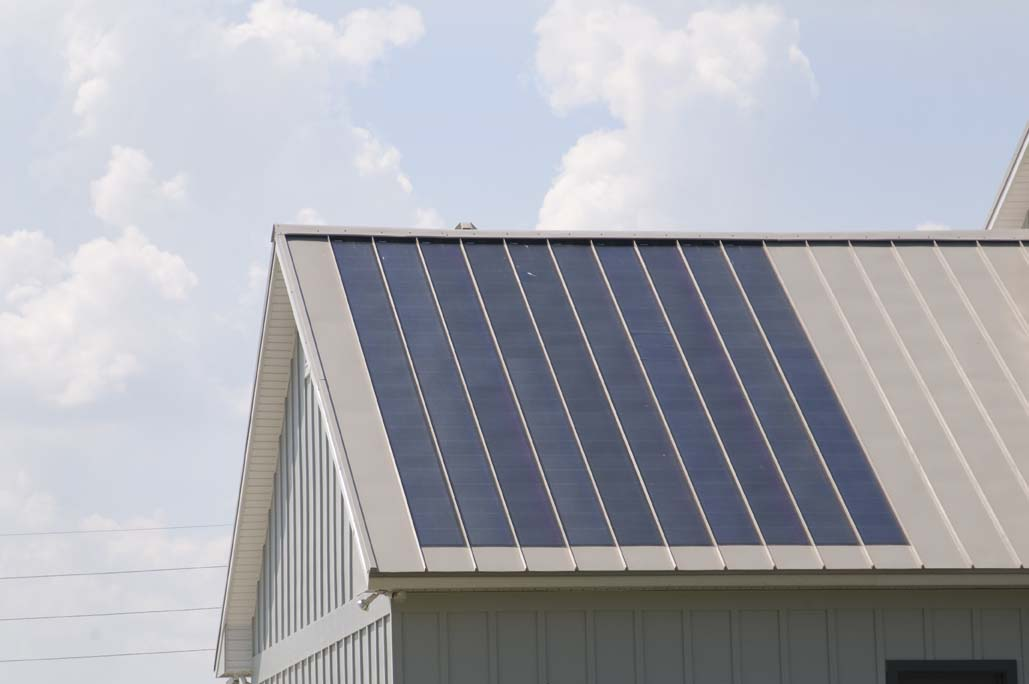 solar roofing and metal roofing