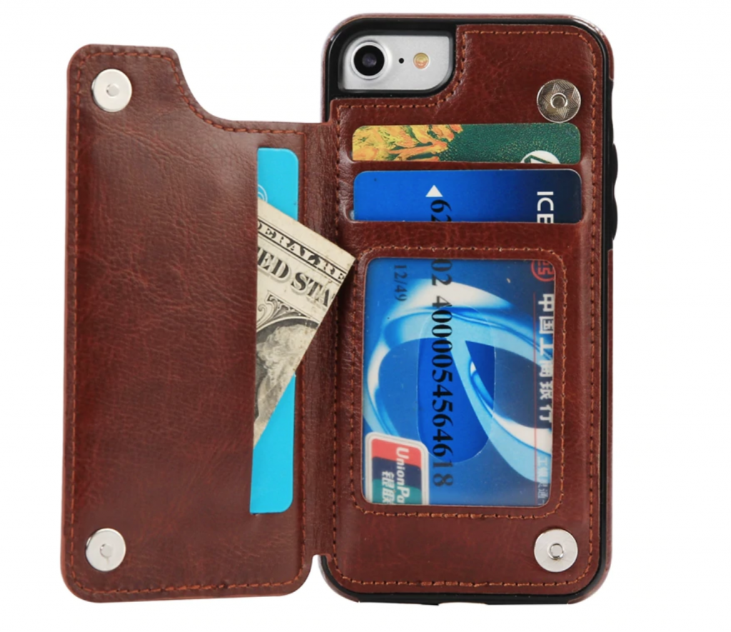 Multi-Card Wallet iPhone Xs Max Card Holder Case