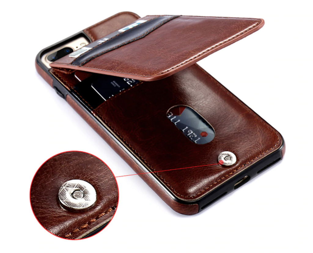 Luxury Leather Flip Wallet iPhone Xs Max Card Holder Case