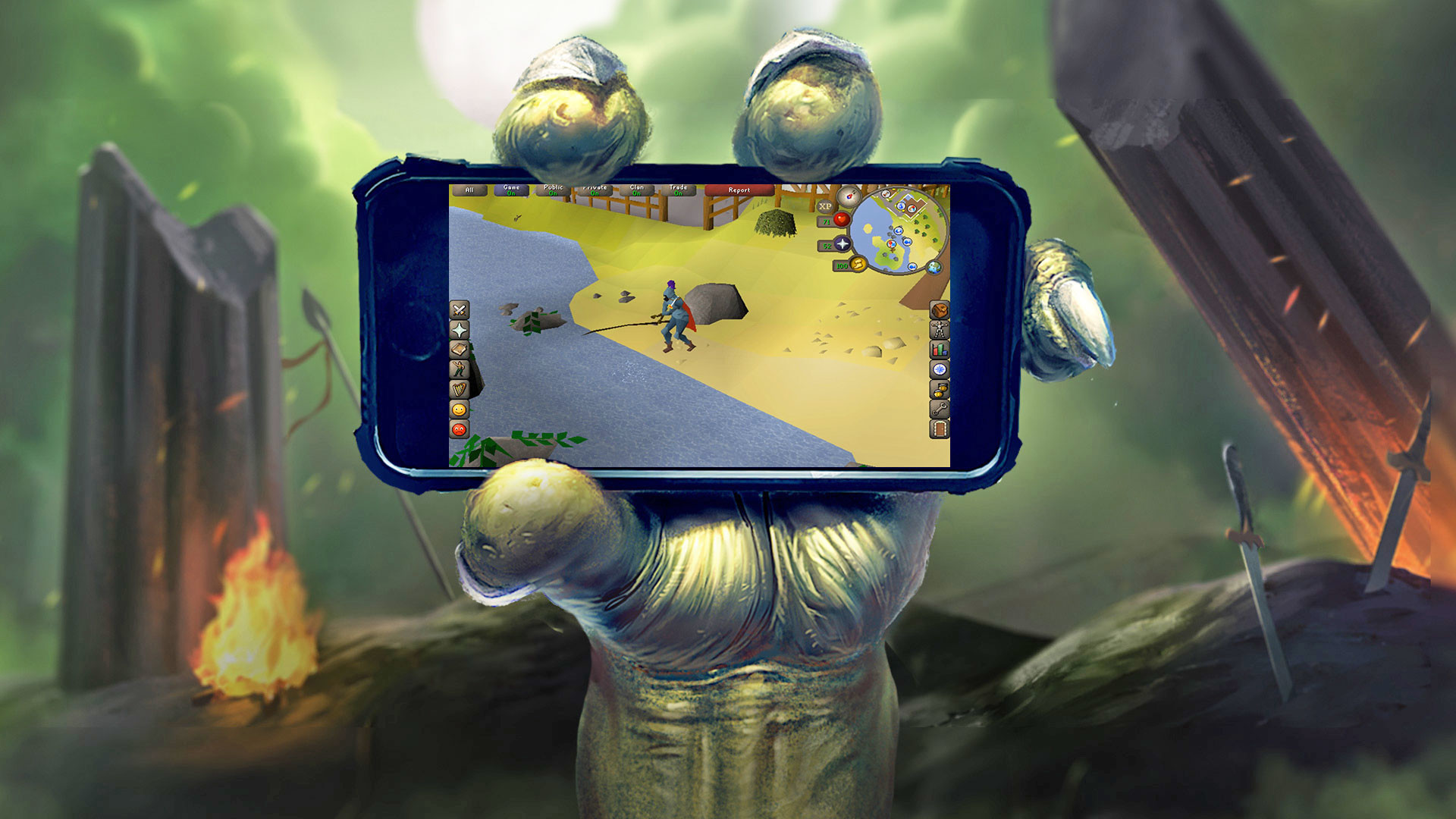 how to play runescape on iphone 2017