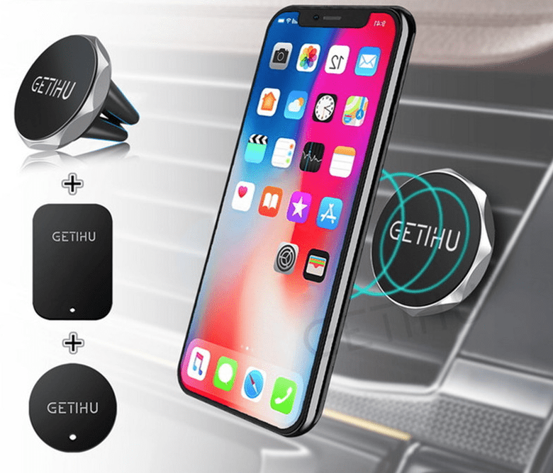 Best Universal Magnetic iPhone Xs, iPhone XR, and iPhone Xs Max Car Mount