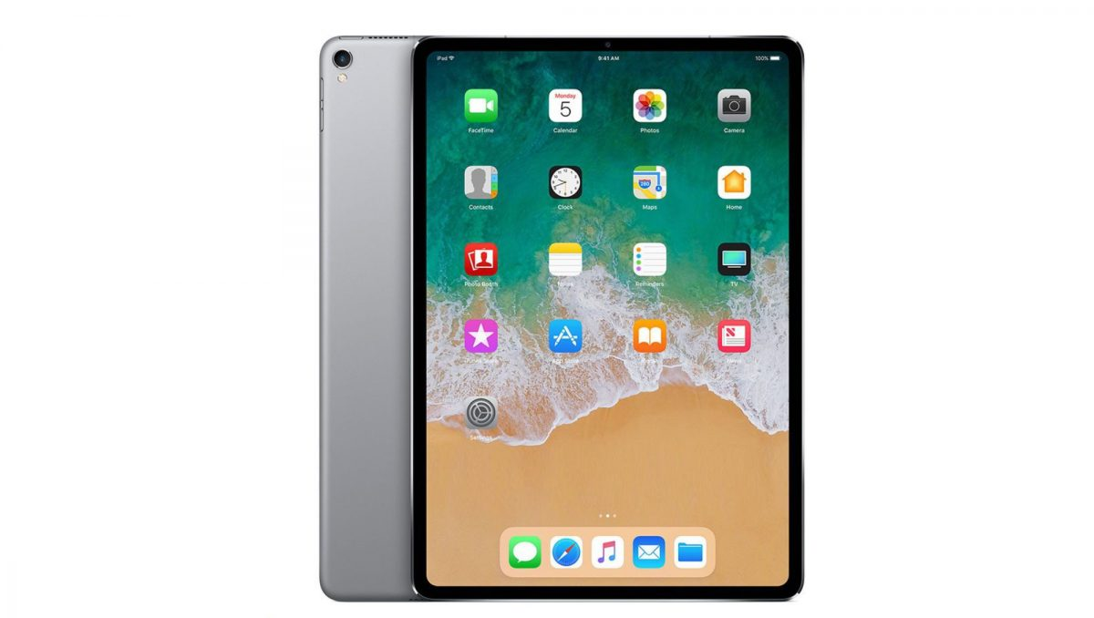 New Bezeless iPad (2018)