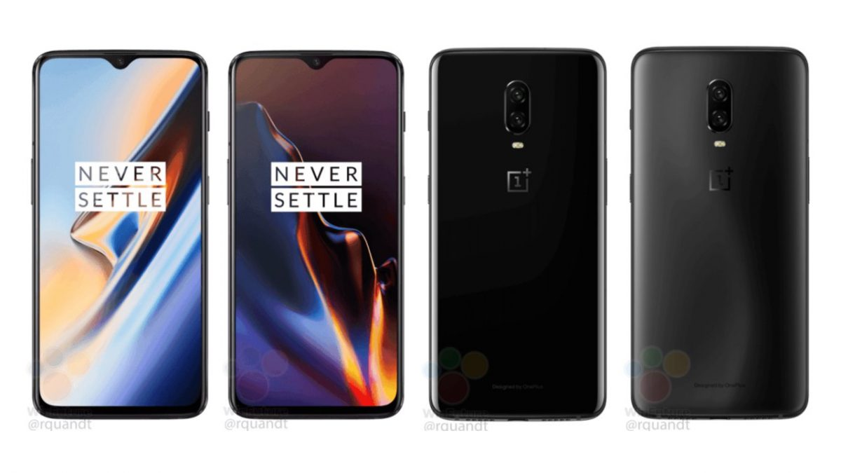 OnePlus 6T leaked