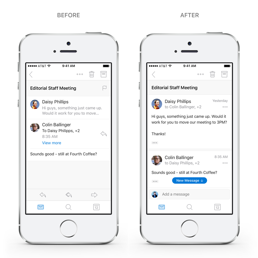 Outlook on iOS