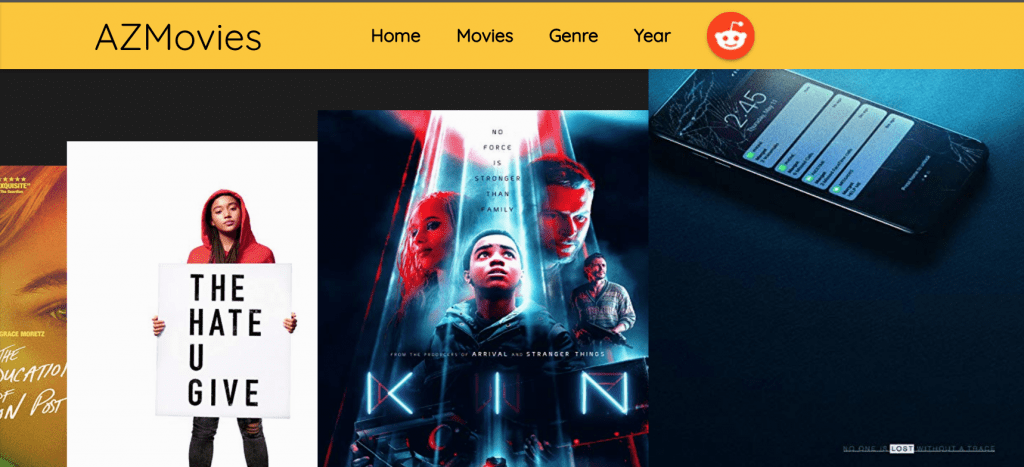 Watch Free Streaming Movies Online On AZMovies