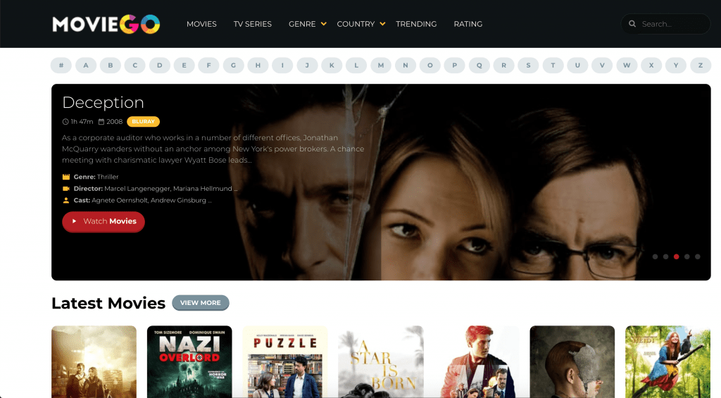 Watch Free Streaming Movies Online On MovieGo
