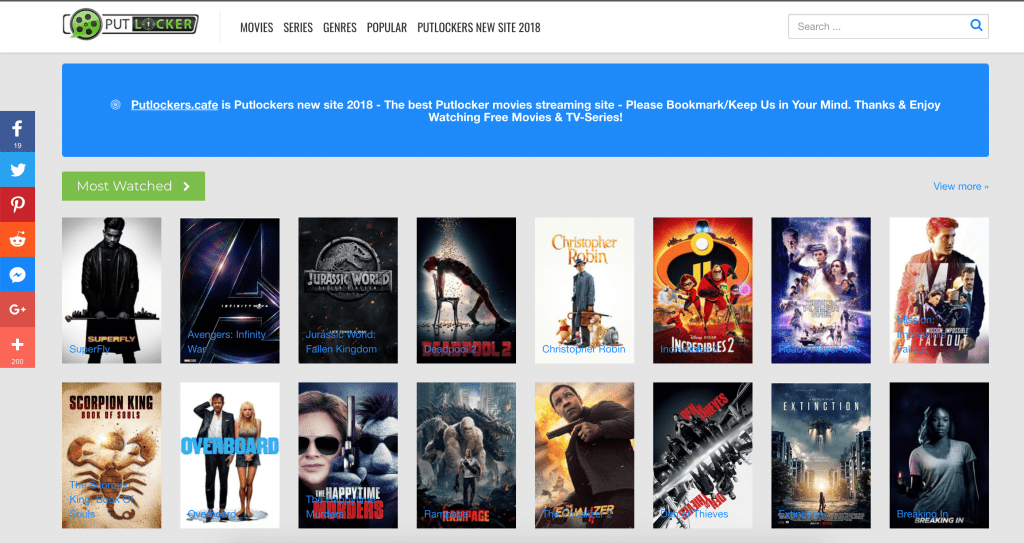 Watch Free Streaming Movies Online On Putlocker