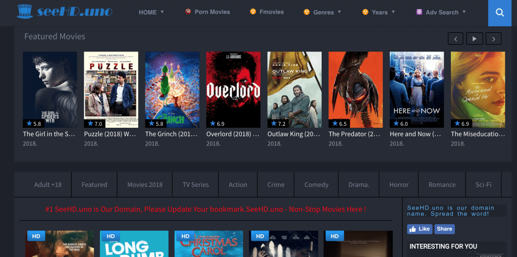 Watch Free Streaming Movies Online On SeeHD