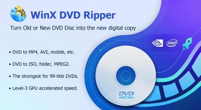 WinX DVD Ripper Free