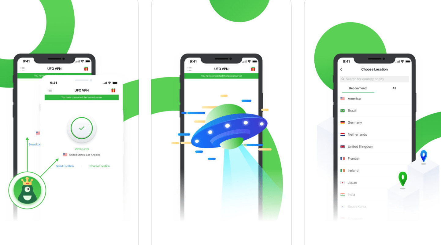 UFO VPN - Your Free Ticket To Fast And Unlimited Anonymous WiFi Access